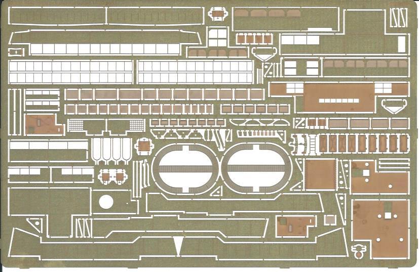Eduard-53194-HMS-Hood-Pt.6-Superstructure-3 Eduard Ätzteile für die HMS HOOD von Trumpeter in 1:200