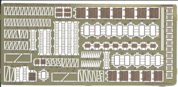Eduard-53194-HMS-Hood-Pt.6-Superstructure-4 Eduard Ätzteile für die HMS HOOD von Trumpeter in 1:200