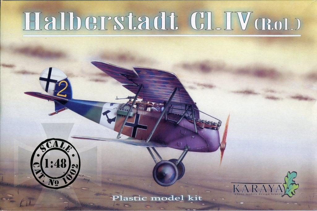 Halberstadt-Cl.IV_Karaya_29 Halberstadt Cl.IV (Rol.) - Karaya 1/48