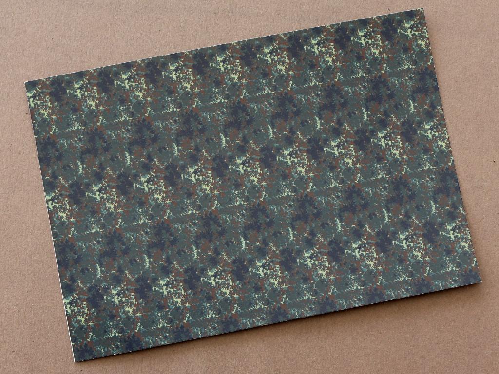 Inhalt-1 German Flecktarn Camouflage Decals 1:35 CrossDelta  #MIL35017