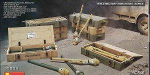 Panzerfaust 30 und 60 im Militär-Maßstab 1:35 von MiniArt 35253