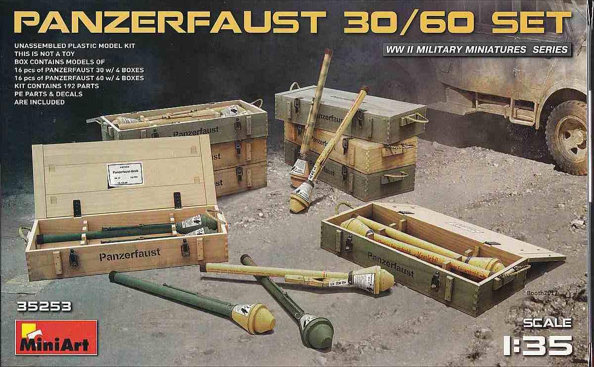 MiniArt-35253-Panzerfaust-30-und-60-5 Panzerfaust 30 und 60 im Militär-Maßstab 1:35 von MiniArt 35253