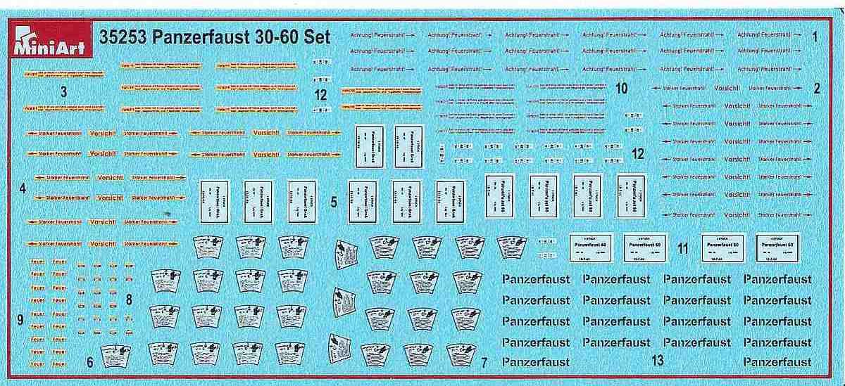 MiniArt-35253-Panzerfaust-30-und-60-7 Panzerfaust 30 und 60 im Militär-Maßstab 1:35 von MiniArt 35253