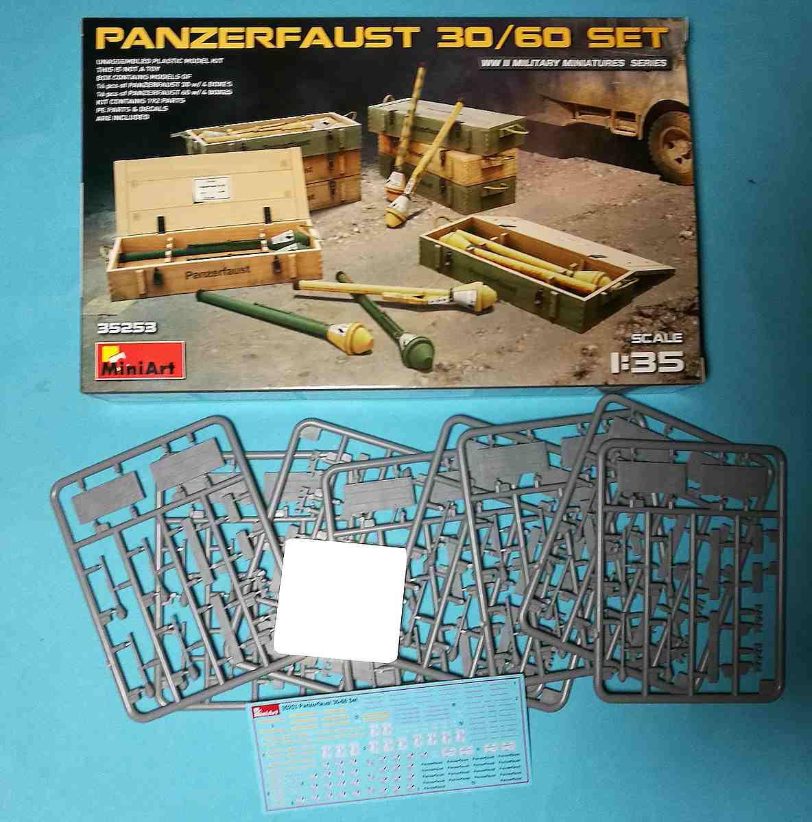 MiniArt-35253-Panzerfaust-30-und-60-9 Panzerfaust 30 und 60 im Militär-Maßstab 1:35 von MiniArt 35253