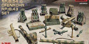Panzerschreck und Ofenrohr im Maßstab 1:35 – Vorschau MiniArt 35263