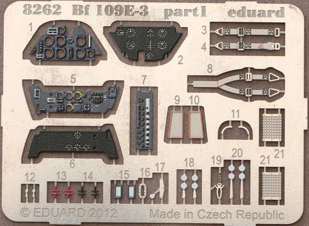 PE-1 Bf 109 E-3 1:48 Eduard ProfiPACK (#8262)