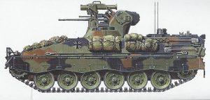 Profil1-300x144 Schützenpanzer Marder 1A2 1:35 Tamyia #35162