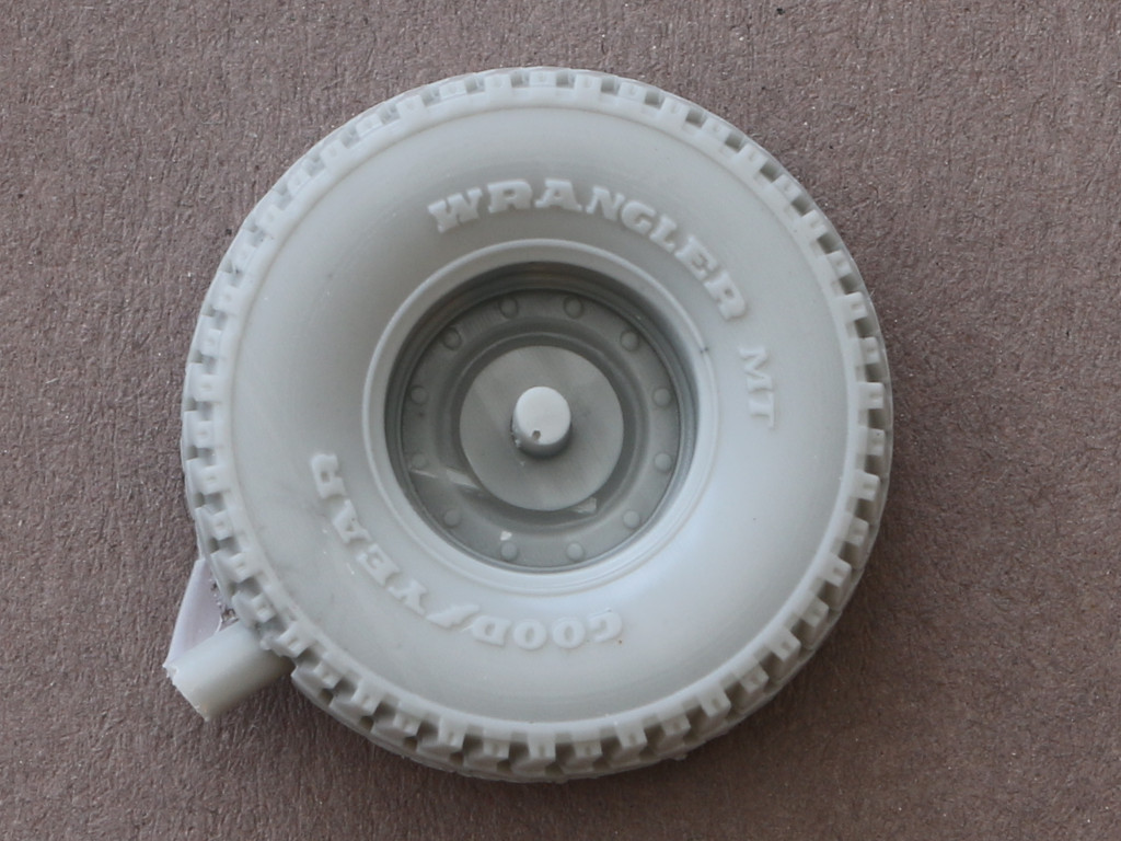 Rückseite-late Road Wheels für HUMVEE 1:35 Panzer Art #RE35-075 und #RE35-212
