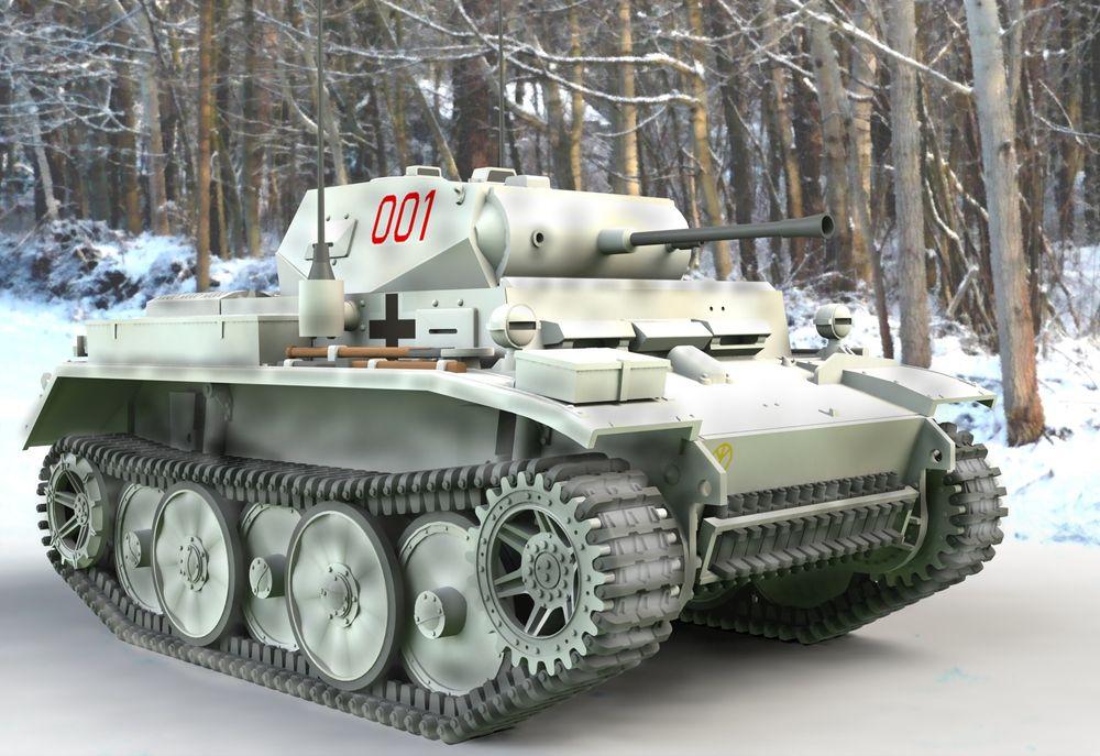Revell-03266-PzKpfw-II-Ausf.-L-LUCHS-Sd.Kfz_.-123 Revell Neuheiten 2018