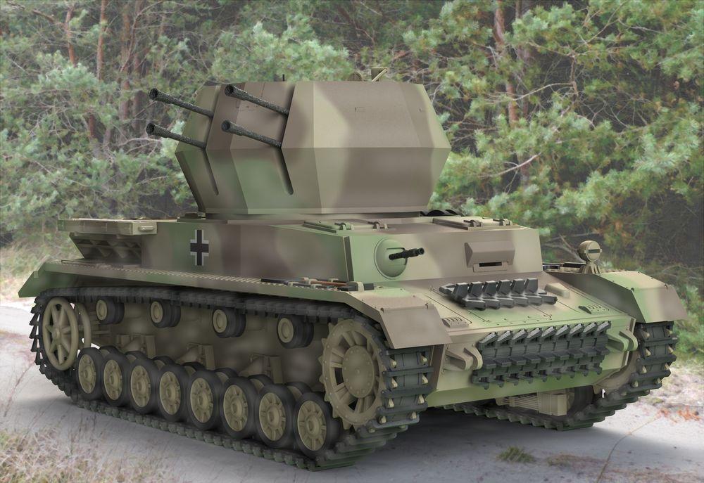 Revell-03267-Flakpanzer-IV-Wirbelwind-2-cm-Flak-38 Revell Neuheiten 2018