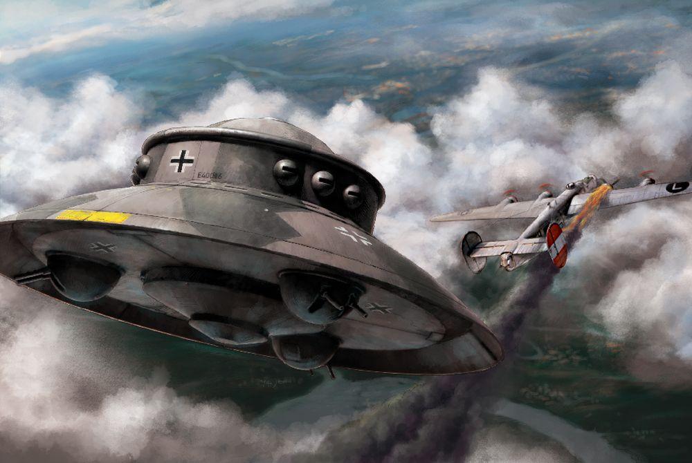 Revell-03903-Flying-Saucer-Haunebu Revell Neuheiten 2018