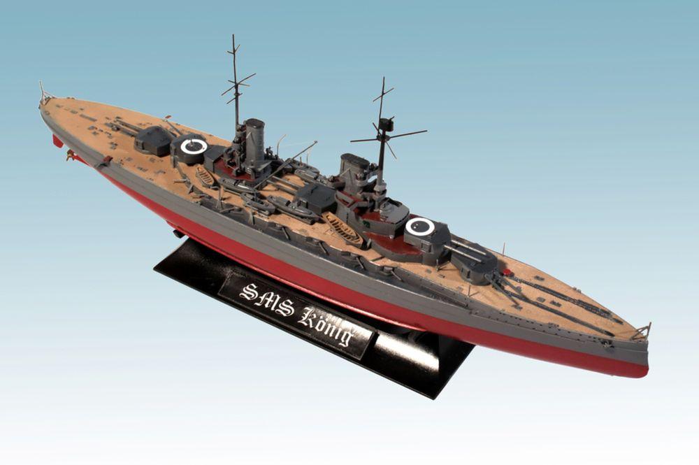 Revell-05157-WWI-Battleship-SMS-KÖNIG Revell Neuheiten 2018