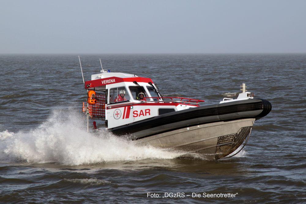 Revell-05228-Search-Rescue-Daughter-Boat-VERENA-Foto-DGzRS-Die-Seenotretter Revell Neuheiten 2018