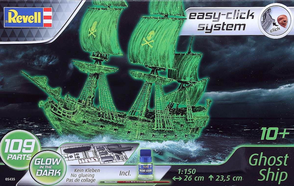 Revell-05435-Ghost-Ship-1 Ghost Ship im Maßstab 1:150 von Revell