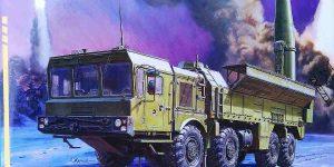 """Sowjetisches Raketensystem SS-26 """"Stone"""" Iskander-M von Zvezda 5028"""