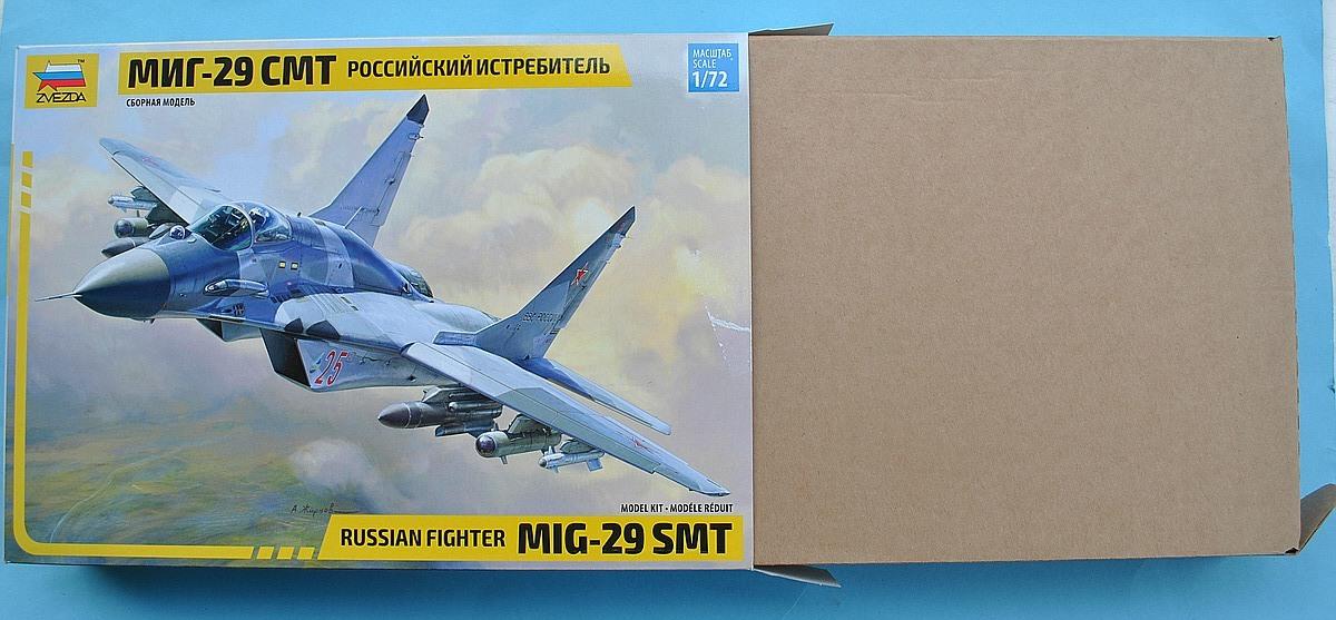 Zvezda-7309-MiG-29-SMT-10 MiG-29 SMT im Maßstab 1:72 von Zvezda 7309