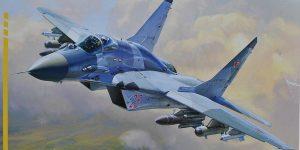 MiG-29 SMT im Maßstab 1:72 von Zvezda 7309