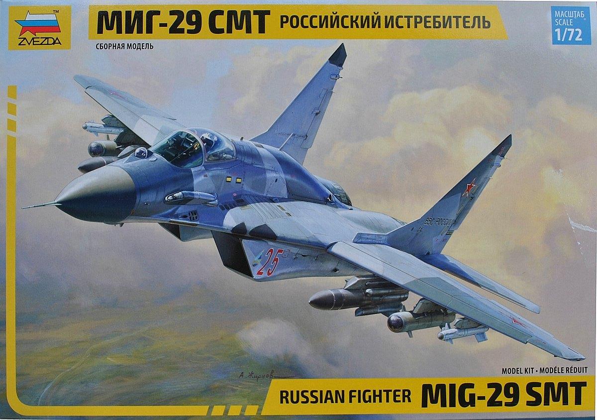 Zvezda-7309-MiG-29-SMT-11 MiG-29 SMT im Maßstab 1:72 von Zvezda 7309