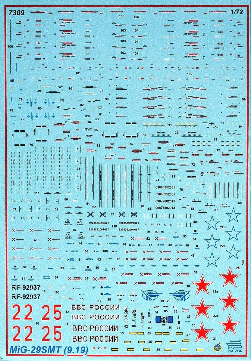 Zvezda-7309-MiG-29-SMT-2-e1516395177778 MiG-29 SMT im Maßstab 1:72 von Zvezda 7309