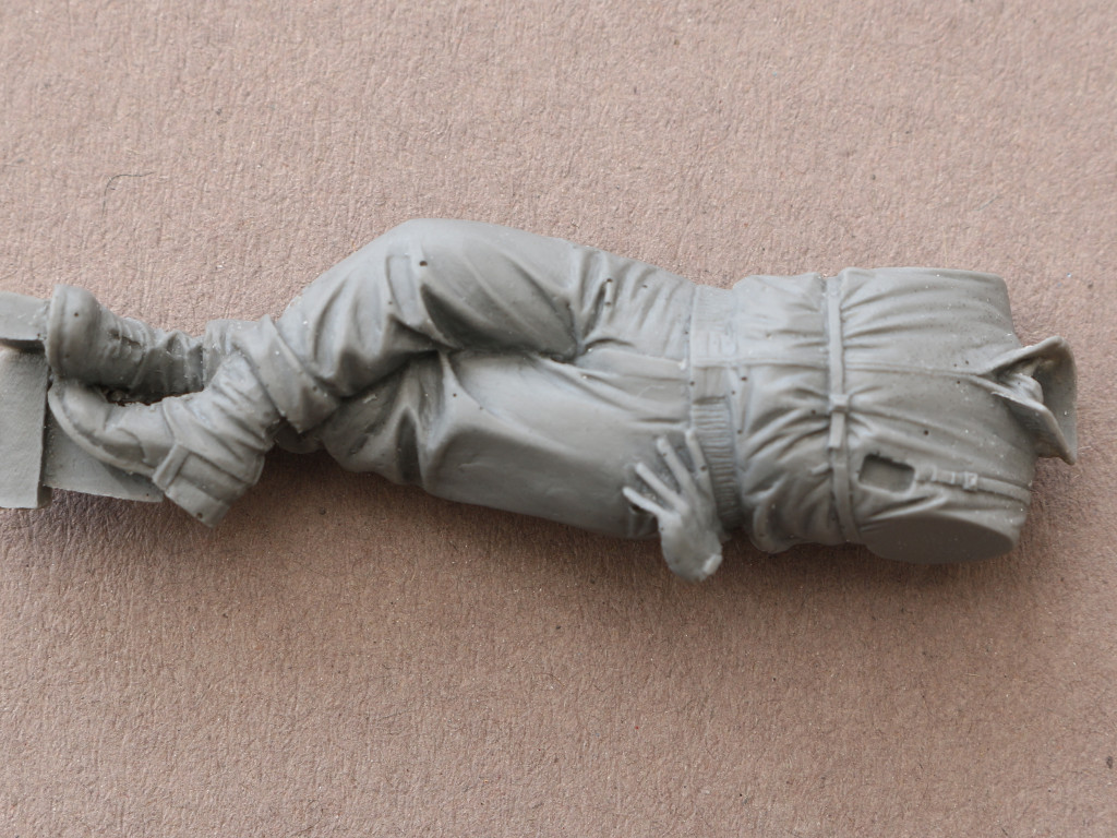 03-2 US Soldier at rest WWII Royal Model (#193)