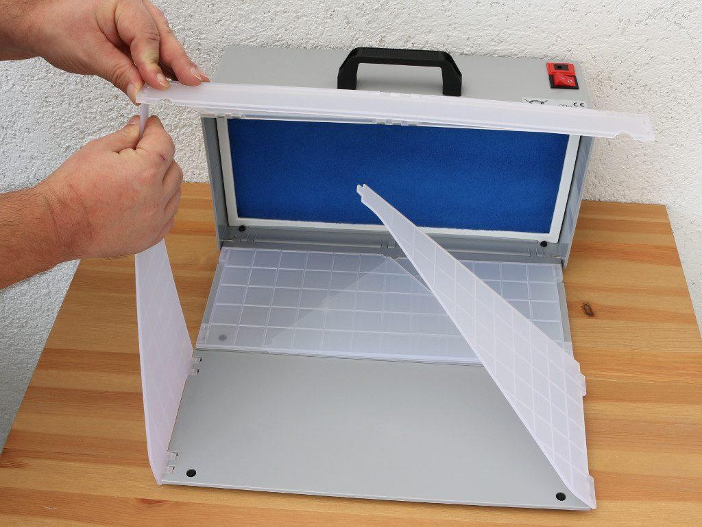 04-1024x768 Wiltec Airbrush Filterspritzkabine E420