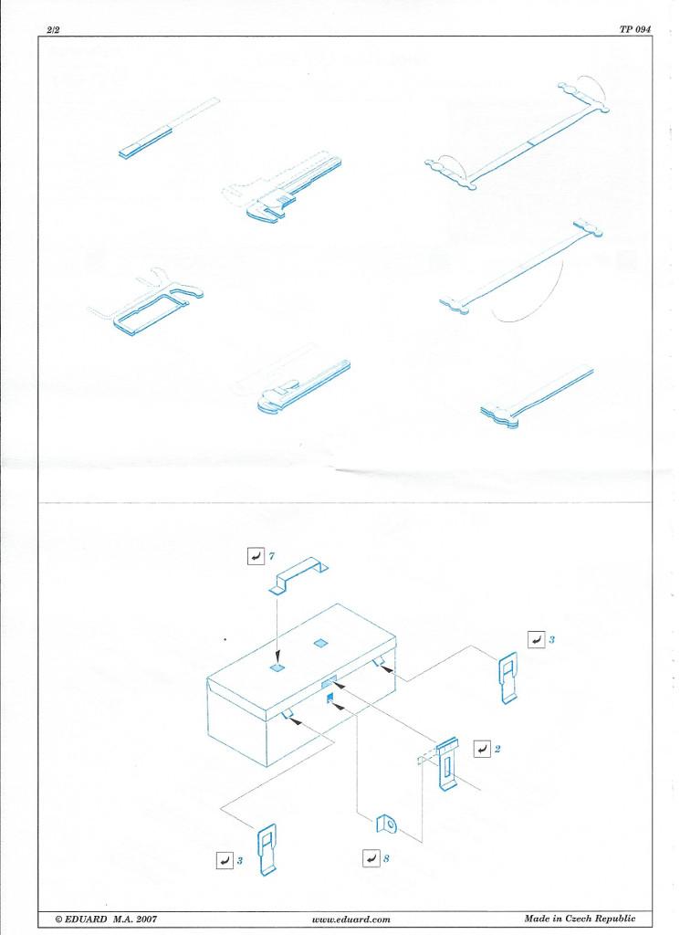 Anleitung02 Tool Box US set 2 1:35 Eduard (#TP094)