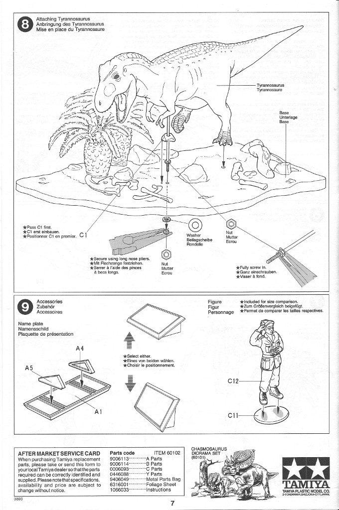 Anleitung07-680x1024 Tyrannosaurus Diorama Set Tamiya 1:35 #60102)
