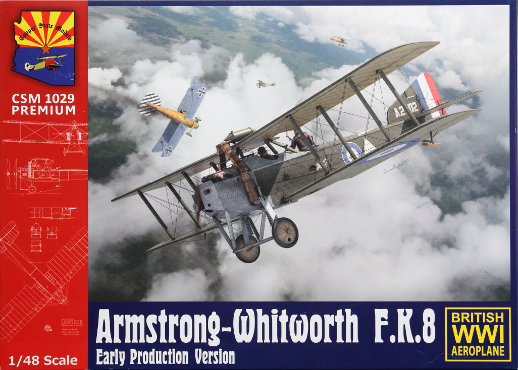 Armstrong-Whitworth_F.K.8_63 Armstrong-Whitworth F.K.8 early - Copper State Models 1/48