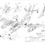 Bobcat-48001-Yak-28P-Bauanleitung7-150x150 Drei Rohre im Formationsflug - Yak-28P Firebar in 1:48 Bobcat 48001