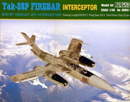 Bobcat-48001-Yak-28P Drei Rohre im Formationsflug - Yak-28P Firebar in 1:48 Bobcat 48001