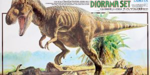 Tyrannosaurus Diorama Set Tamiya 1:35 #60102)