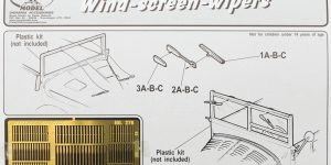 Wind-screen-wipers Royal Model 1:35 (#276)