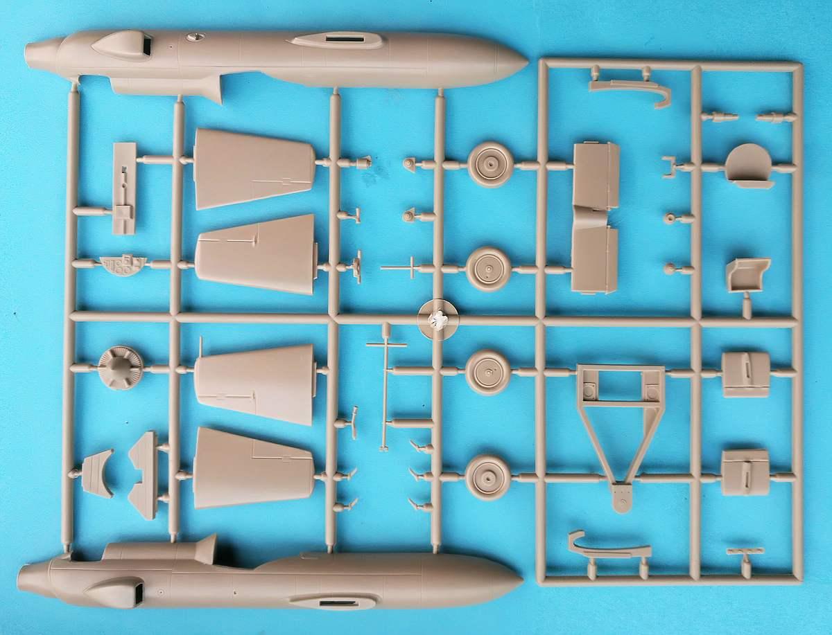 Brengun-BRP-48002-Ohka-Modell-22-2 Yokosuka MXY-7 Ohka Model 22 im Mastab 1:48 von Brengun BRP 48002