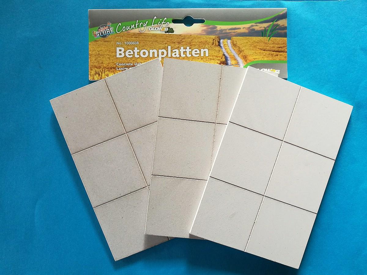 Country-Life-Betonplatten-2 Nützliches Dioramenzubehör - Betonplatten
