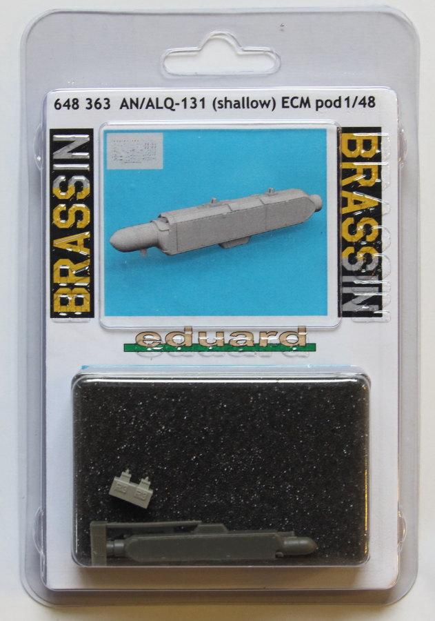 Eduard_AN_ALQ-131_01 AN/ALQ-131 ECM Pod - Eduard BRASSIN 1/48