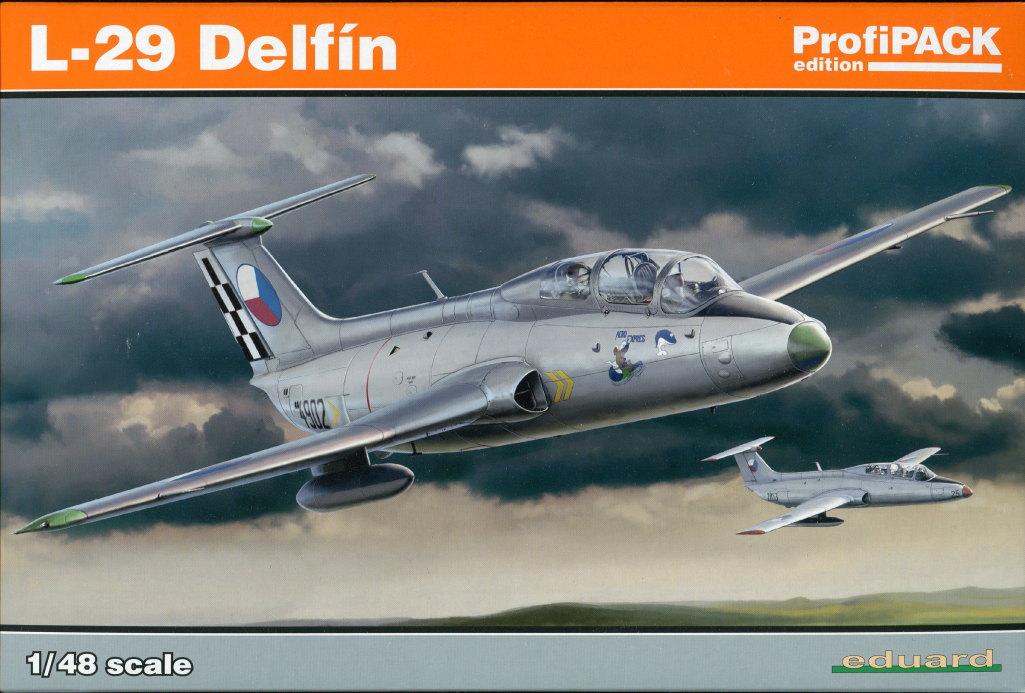 Eduard_L-29_Profipack_01 L-29 Delfin - Eduard ProfiPACK 1/48