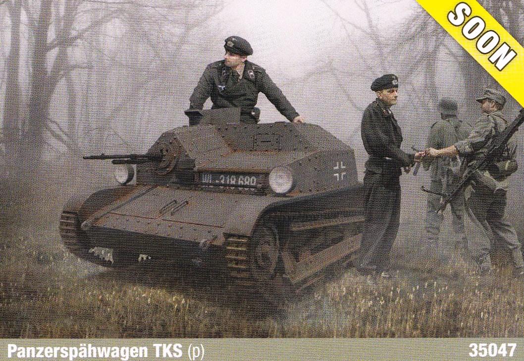 IBG-TK-S-1 Neue polnische Tanketten in 1:35 von IBG