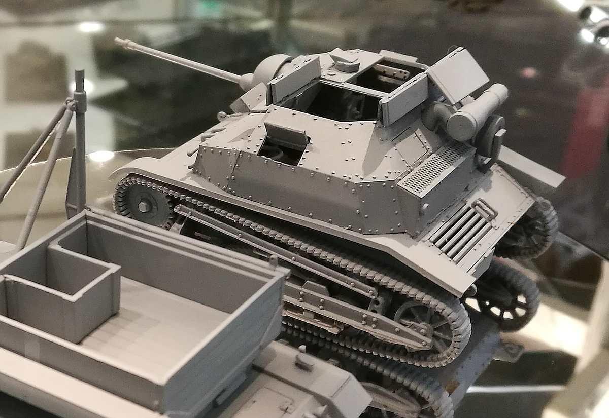 IBG-TK-S-13 Neue polnische Tanketten in 1:35 von IBG