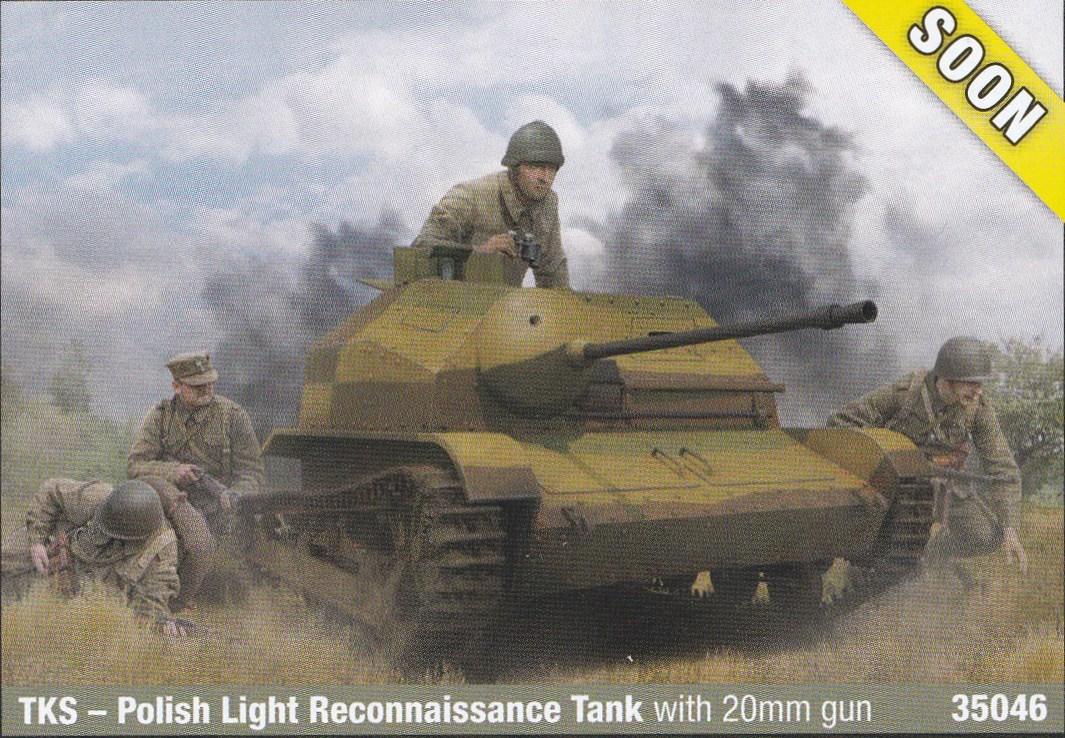IBG-TK-S-2 Neue polnische Tanketten in 1:35 von IBG