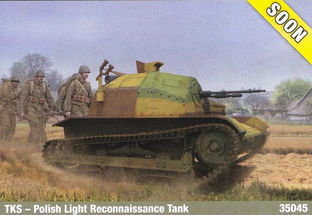 IBG-TK-S-3 Neue polnische Tanketten in 1:35 von IBG
