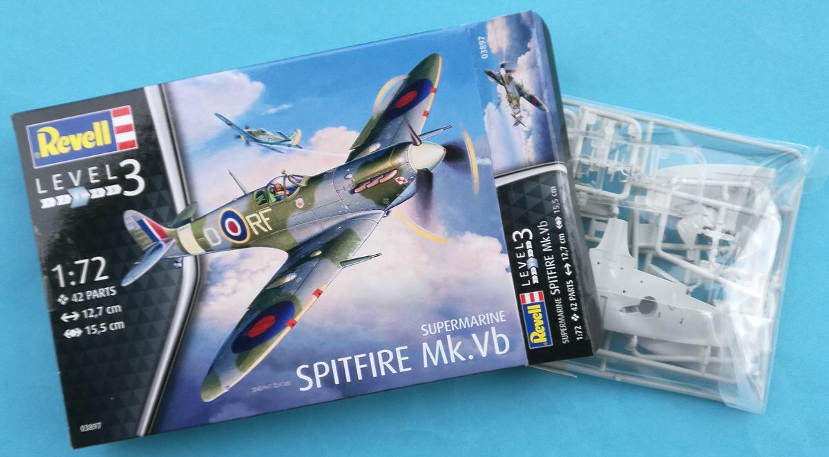 Revell-03897-Spitfire-Mk.-Vb-3 Spitfire Mk. Vb im Maßstab 1:72 von Revell 03897