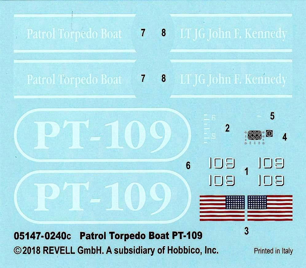 Revell-05147-PT-109-13 PT 109 im Maßstab 1:72 von Revell 05147