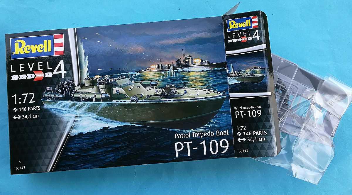 Revell-05147-PT-109-29 PT 109 im Maßstab 1:72 von Revell 05147