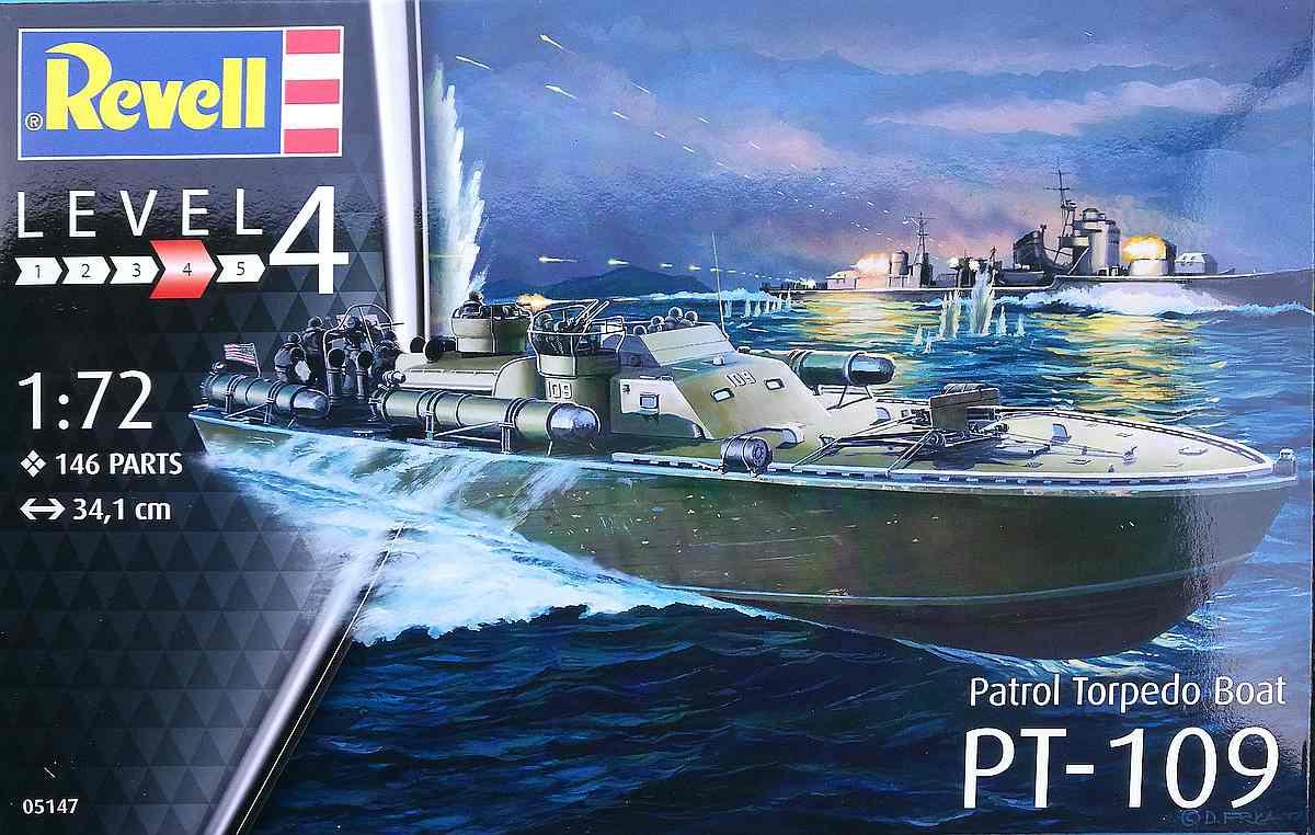 Revell-05147-PT-109-30 PT 109 im Maßstab 1:72 von Revell 05147