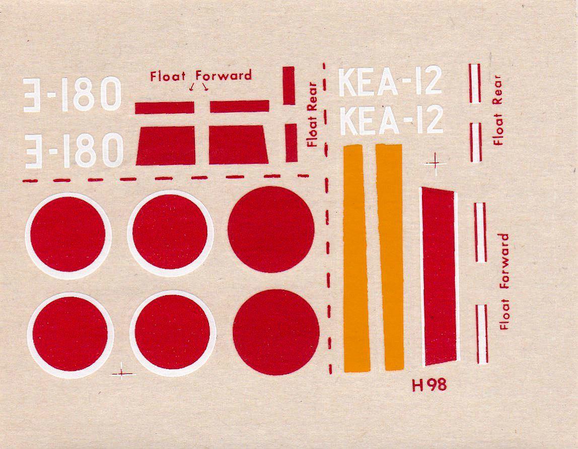 """Revell-H-98-Nakajima-A6M-2N-Rufe-12 Kit-Archäologie - Nakajima A6M2-N """"Rufe"""" in 1:72 von Revell H-98"""