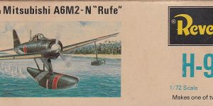 "Kit-Archäologie – Nakajima A6M2-N ""Rufe"" in 1:72 von Revell H-98"