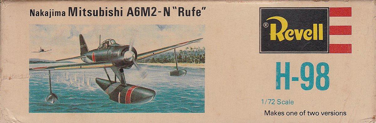 """Revell-H-98-Nakajima-A6M-2N-Rufe-17 Kit-Archäologie - Nakajima A6M2-N """"Rufe"""" in 1:72 von Revell H-98"""