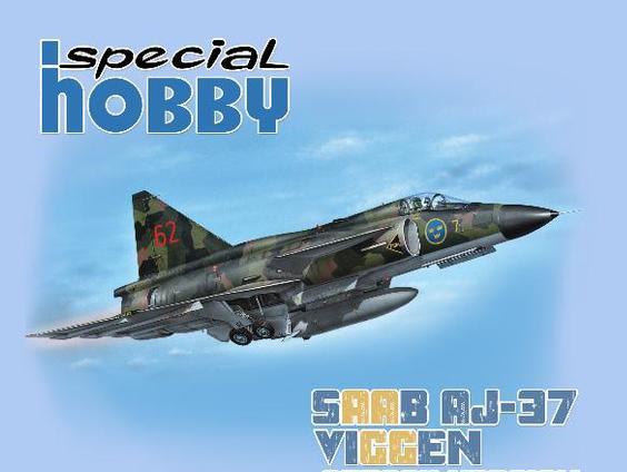 Special-Hobby-Saab-Viggen-1zu72-Preview Eine neue Saab Viggen in 1:72 von Special Hobby!