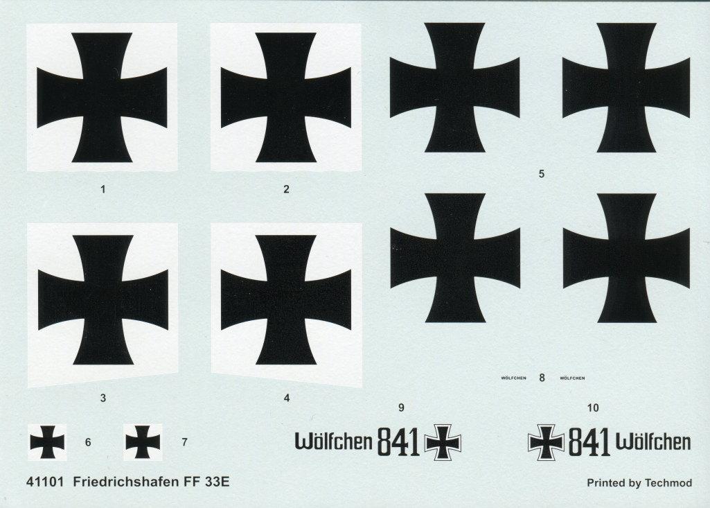 Techmod_Friedrichshafen_FF33e_26 Friedrichshafen FF33e - Techmod 1/48