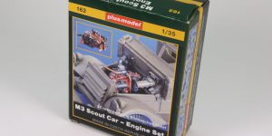 M3 Scout Car Engine Set – plusmodel 1/35